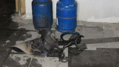 Взрив на газова бутилка предизвика пожар в Русе