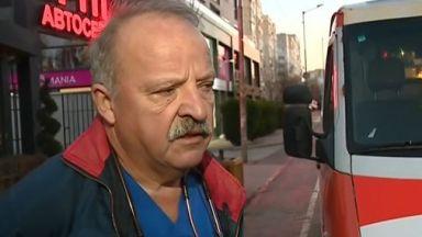 Пациент се нахвърли на медици от Спешна помощ в София