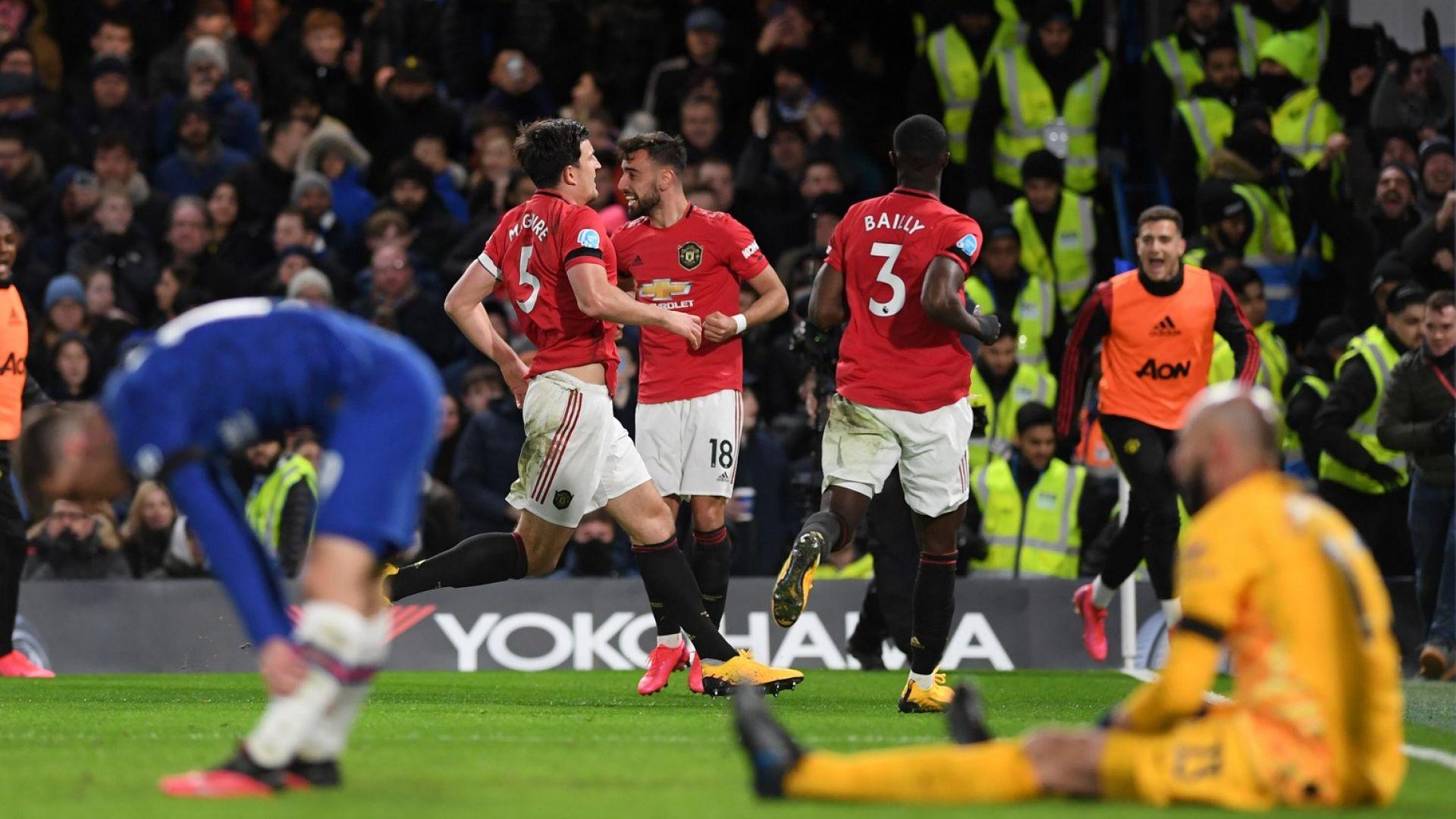 """Юнайтед и ВАР вгорчиха живота на Челси при исторически дубъл за """"дяволите"""""""