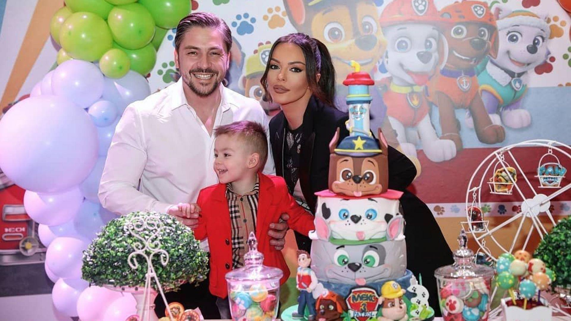 Галена с разкошно тържество за 3-ия рожден ден на сина си