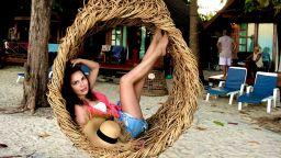 Дения Пенчева с горещи снимки от почивката си в Тайланд