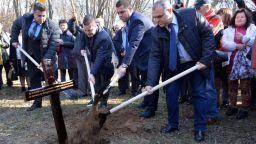 В Русе бе направена първата копка за изграждането на паметник на Левски
