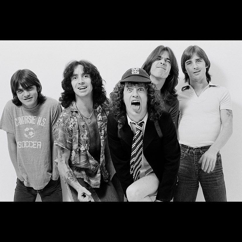 AC/DC с Бон Скот