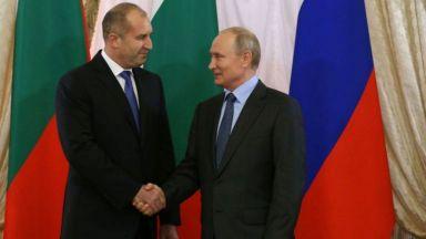 Кремъл: Президентът Радев потвърди, че ще бъде в Москва за 9 май