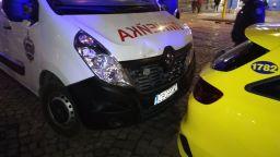 Катастрофа с кола на съдебната власт, в която са били Ветко и Маринела Арабаджиеви (снимки)