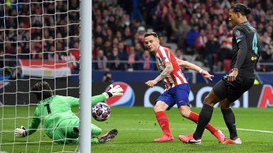 Атлетико шокира Ливърпул с първия удар (на живо)