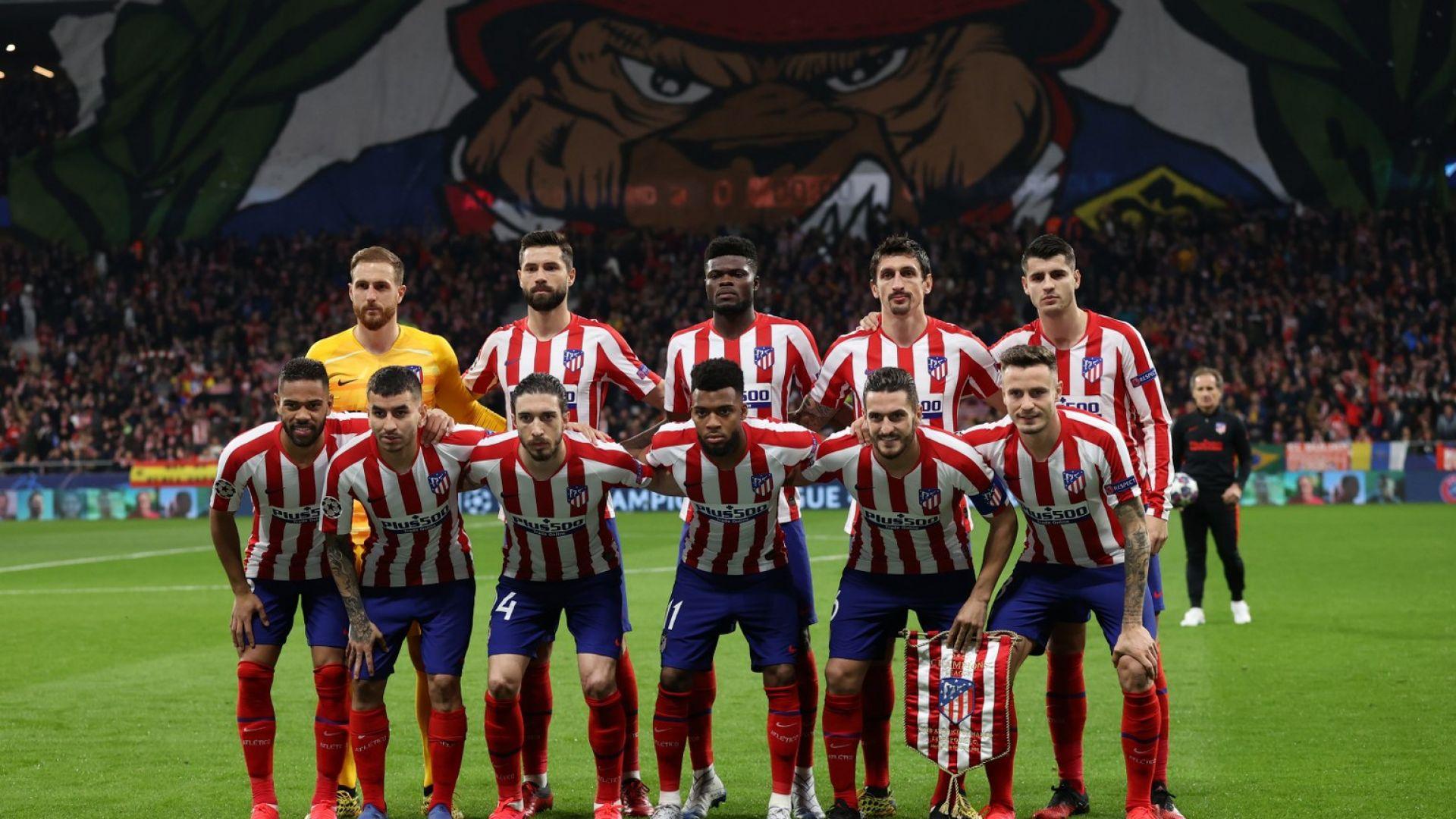 Отложиха мача на Атлетко заради снега в Мадрид