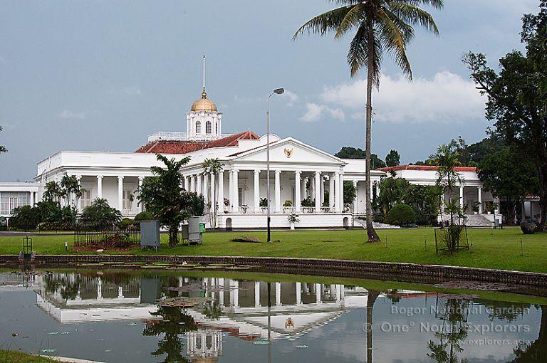 Дворецът в Богор