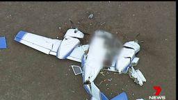 Два самолета се сблъскаха в небето край Мелбърн, 4-ма загинаха (видео)