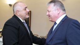 Борисов се срещна с президента на Федералната разузнавателна служба на Германия
