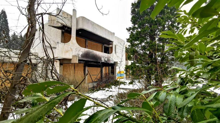 Природата превзема държавната резиденция в Банкя