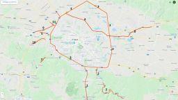 Без винетка в рамките на Столична община: Карта с безплатен маршрут