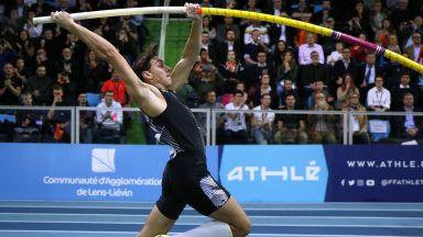 Дуплантис пропусна да направи хеттрик от поредни световни рекорди