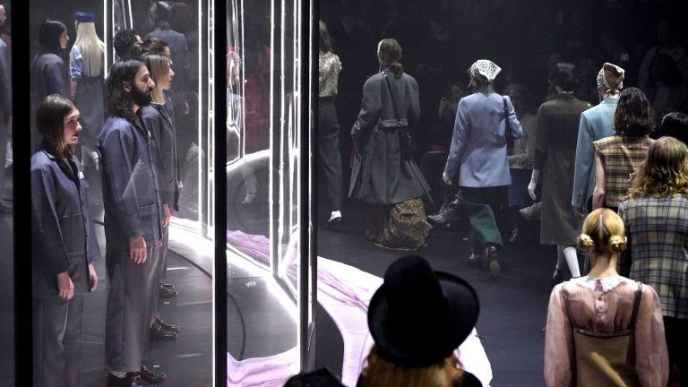 Модна въртележка: Колекцията на Gucci бе представена на Седмицата на модата в Милано