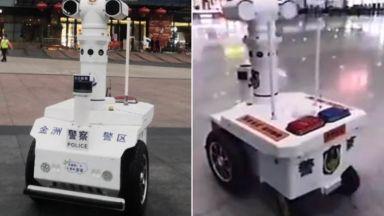 Робот разпознава заразените с коронавирус