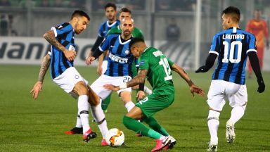 Интер взе своето срещу беззъб Лудогорец в Разград