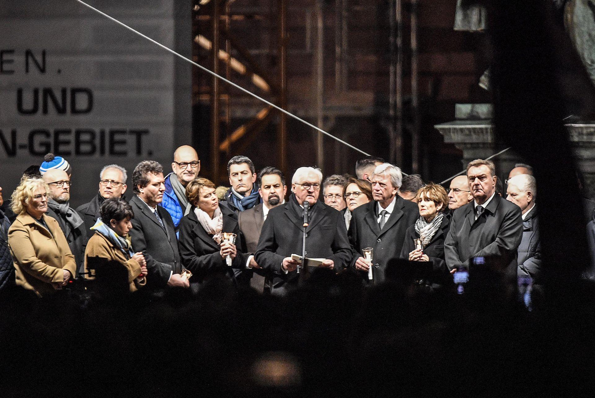 Германия осъди екстреисткото нападение