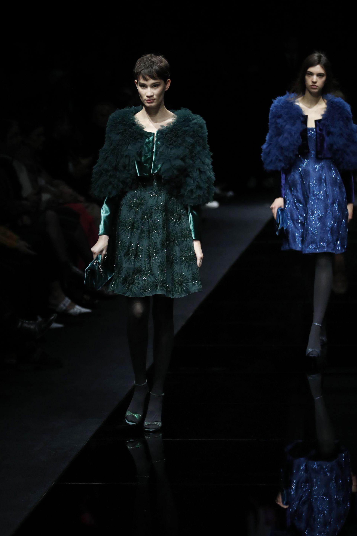 Новата колекцията на Армани есен/зима