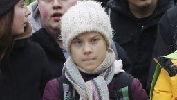 10 000 души участваха с Грета Тунберг в протест за климата в Хамбург (снимки)