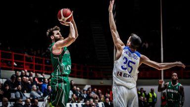Баскетболистите ни започнаха със загуба от Гърция европейските квалификации