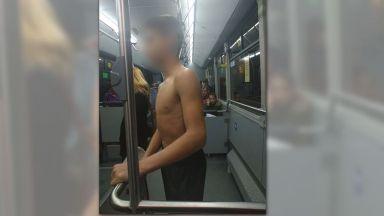 Има задържани заподозрени за съблеченото в градски автобус момче