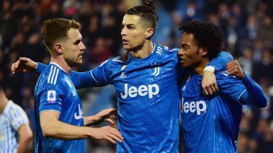 Роналдо изравни постижение на Батистута, Юве се справи с последния