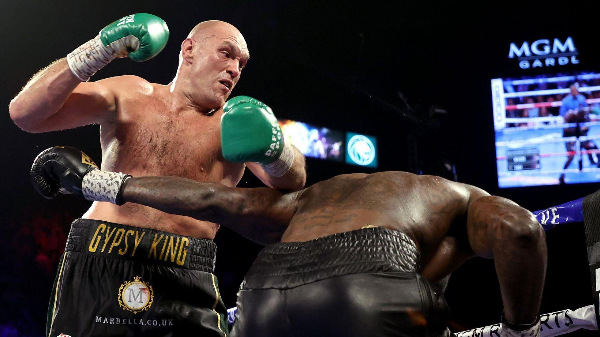 Боксът има нов крал! Фюри прегази зрелищно шампиона Уайлдър (видео и снимки)