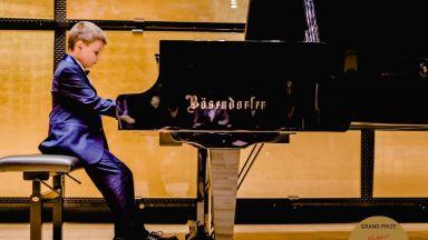 8-годишният пианист Борис Дюлгеров - с второ световно признание