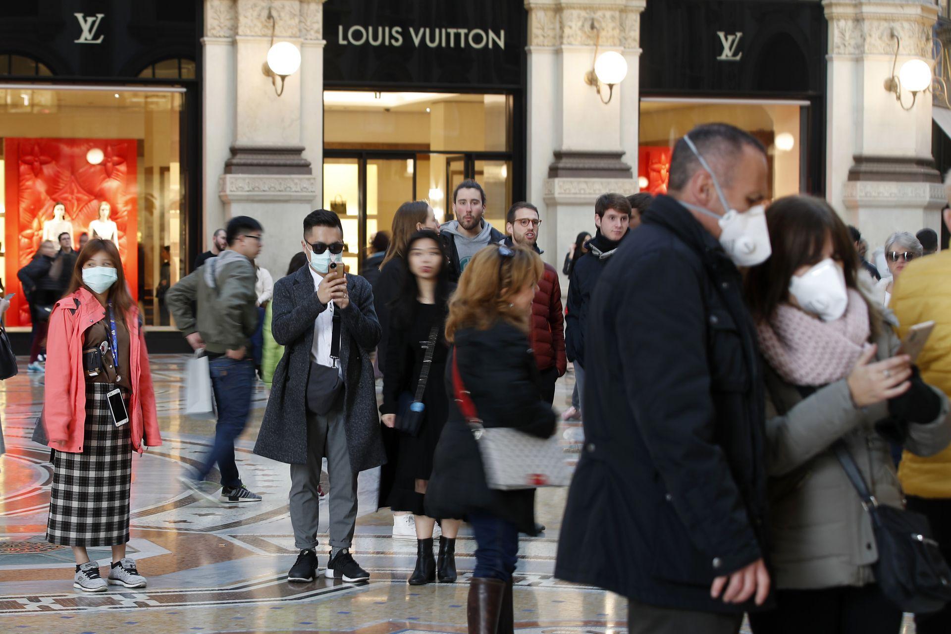 В Италия са 152 потвърдени случая на коронавирус, а трима души починаха