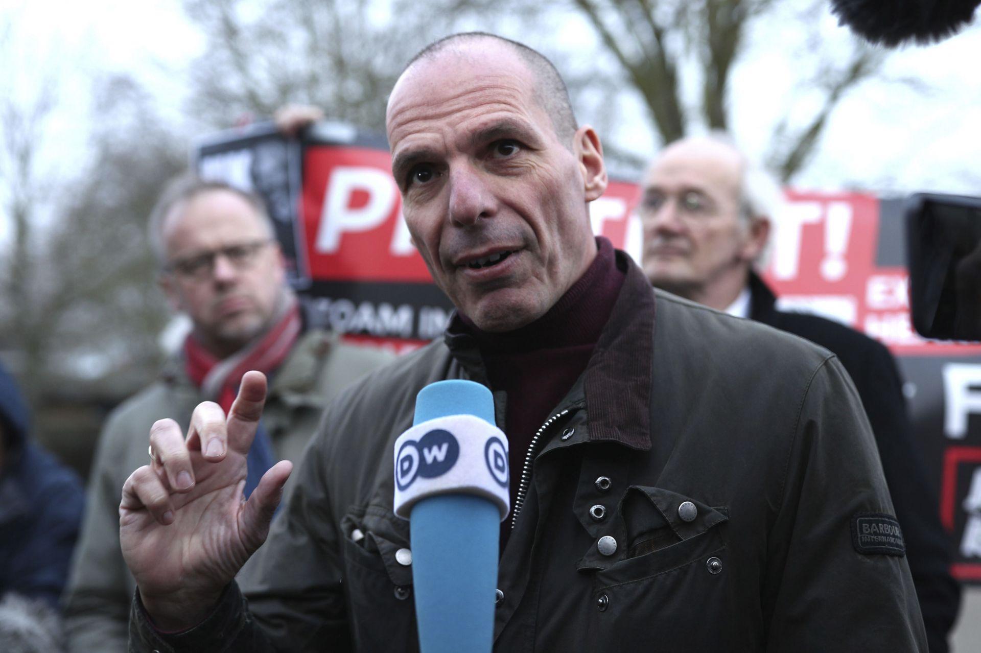 гръцкия икономист Янис Варуфакис