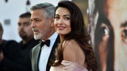 Имението на Джордж и Амал Клуни в Англия под вода (снимки)