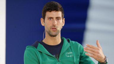 Джокович пожела успех на Федерер, въпреки скандалните думи на баща му за Маестрото