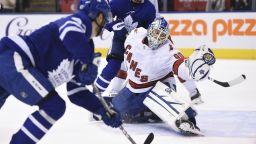 Като на филм: 42-годишен шофьор слезе от трибуните и спечели мач в NHL
