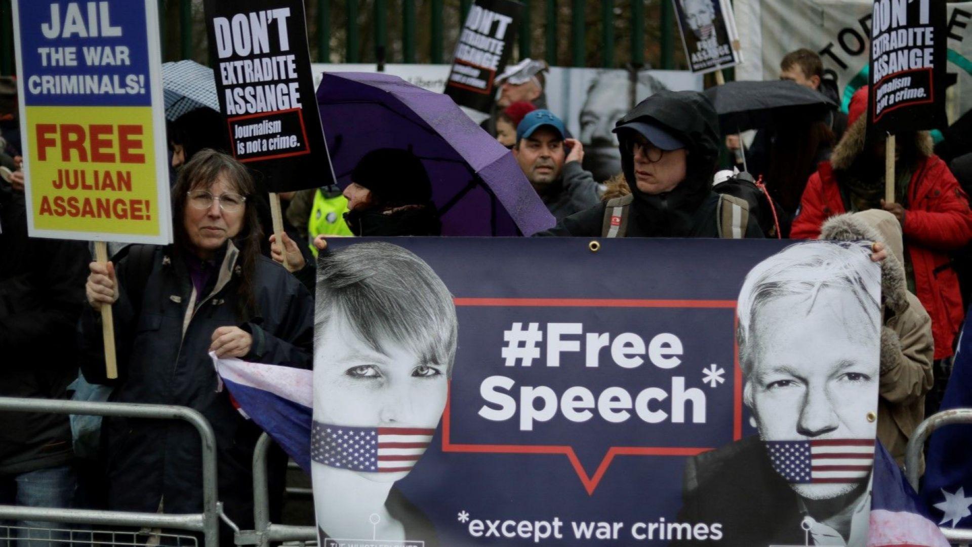 Адвокатът на САЩ: Асандж застраши живота на хора, помагали на Запада