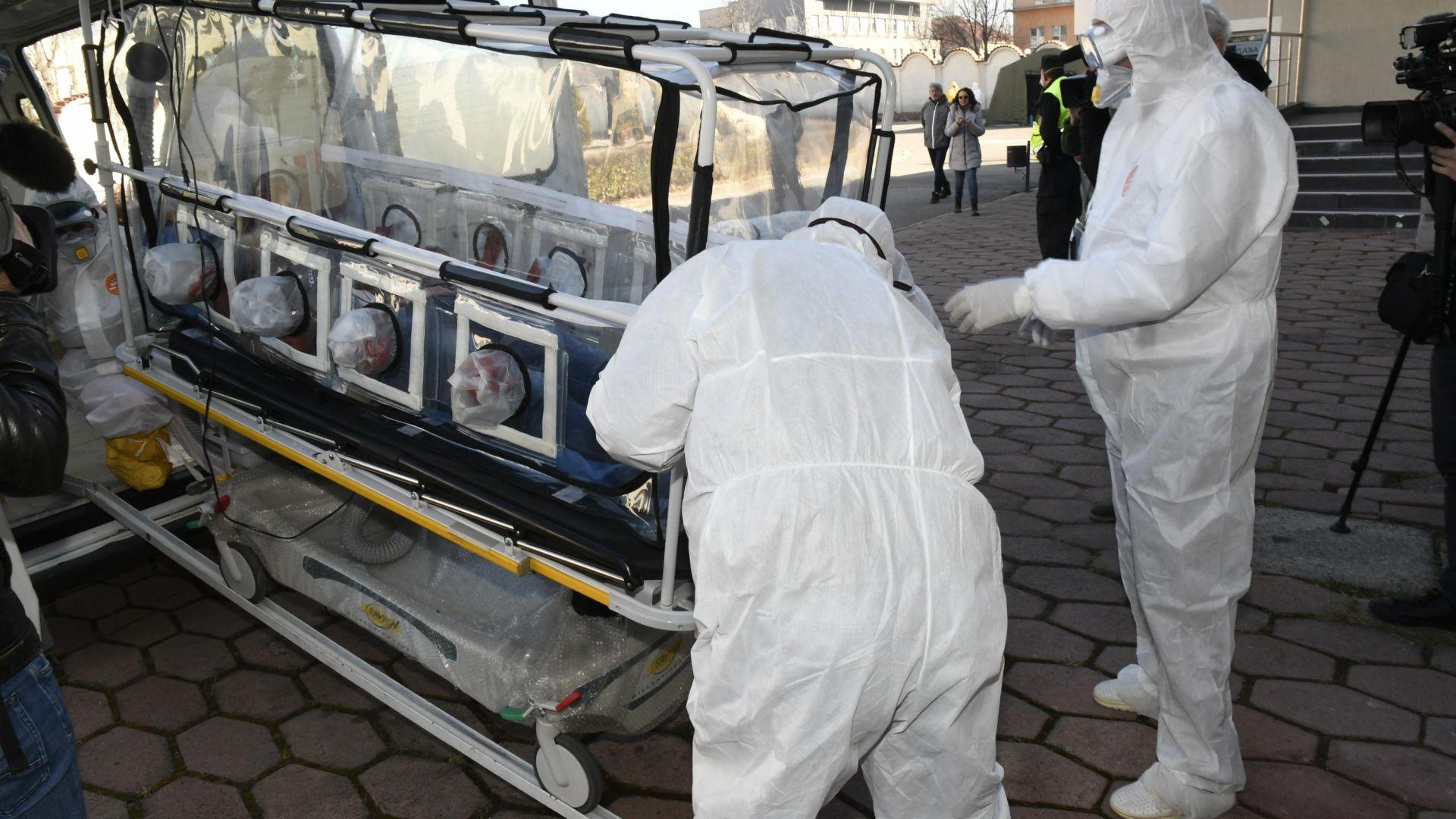 Рекорден брой починали с коронавирус за ден в България
