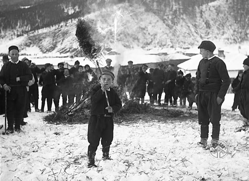Орашници, с. Говедарци, Самоковско, 1943-45 г.