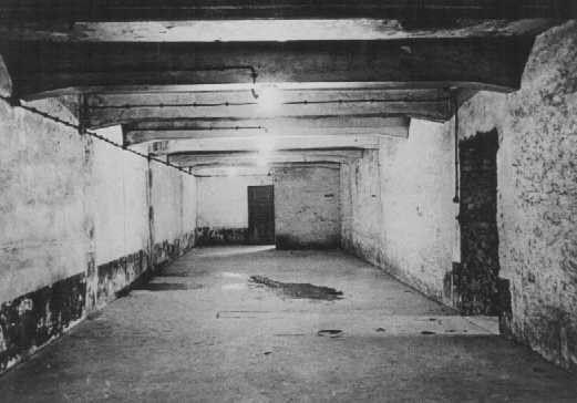 Газовата камера в Аушвиц