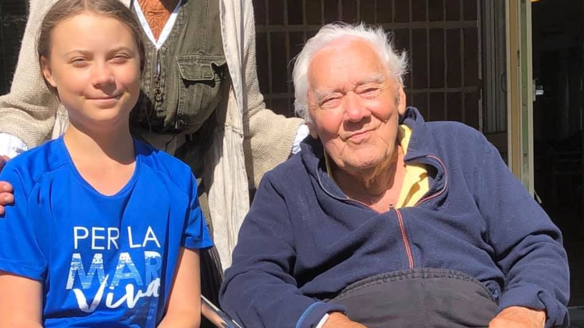 Почина дядото на Грета Тунберг - известният актьор Олоф Тунберг