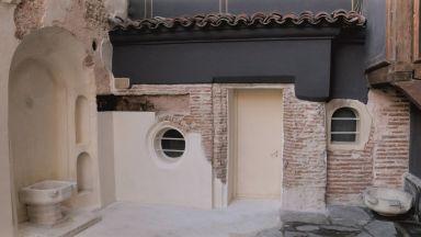 Останки от хамам показват в двора на Етнографския музей в Пловдив