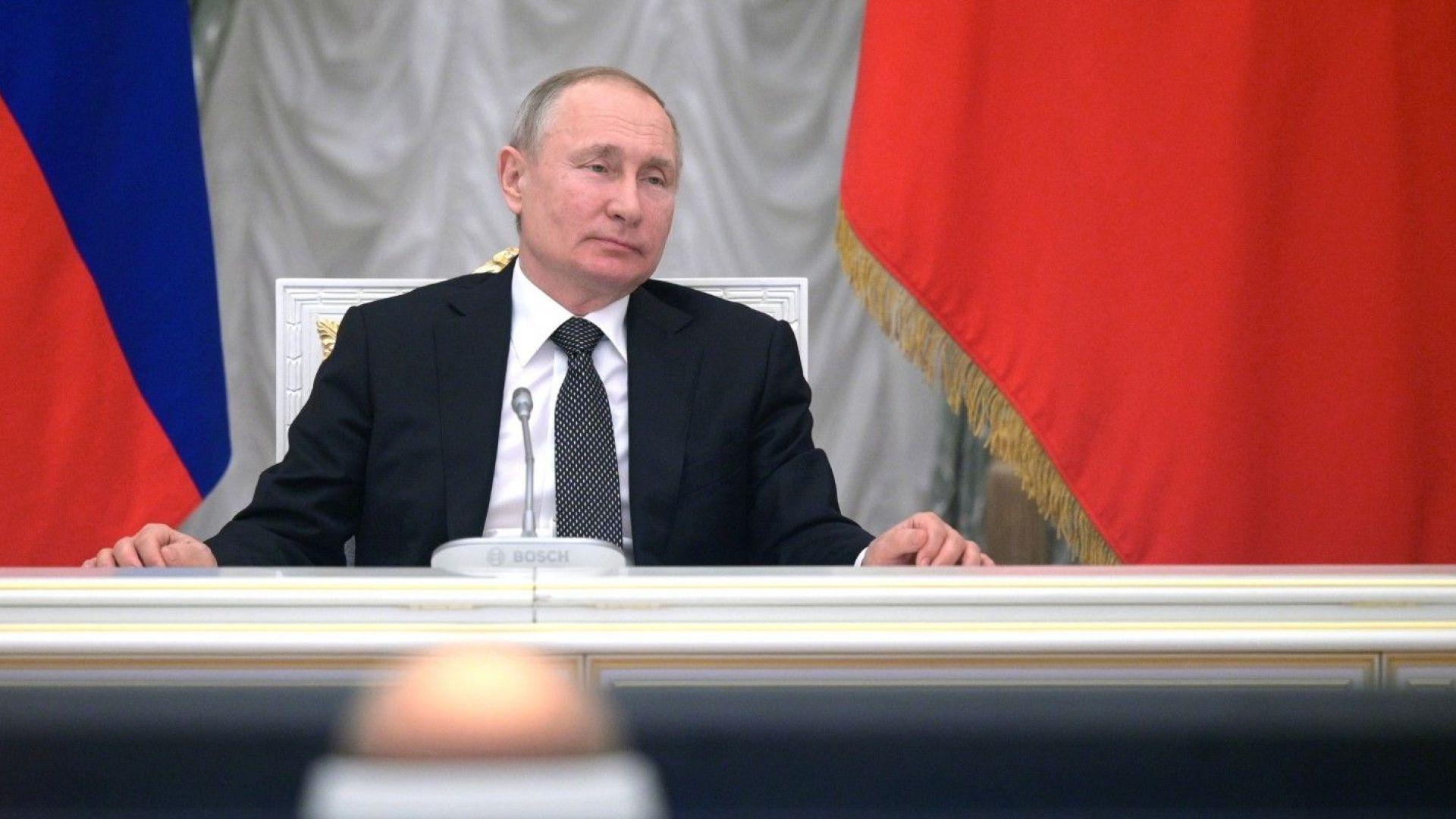 Руският президент Владимир Путин призна, че идеята за използване на