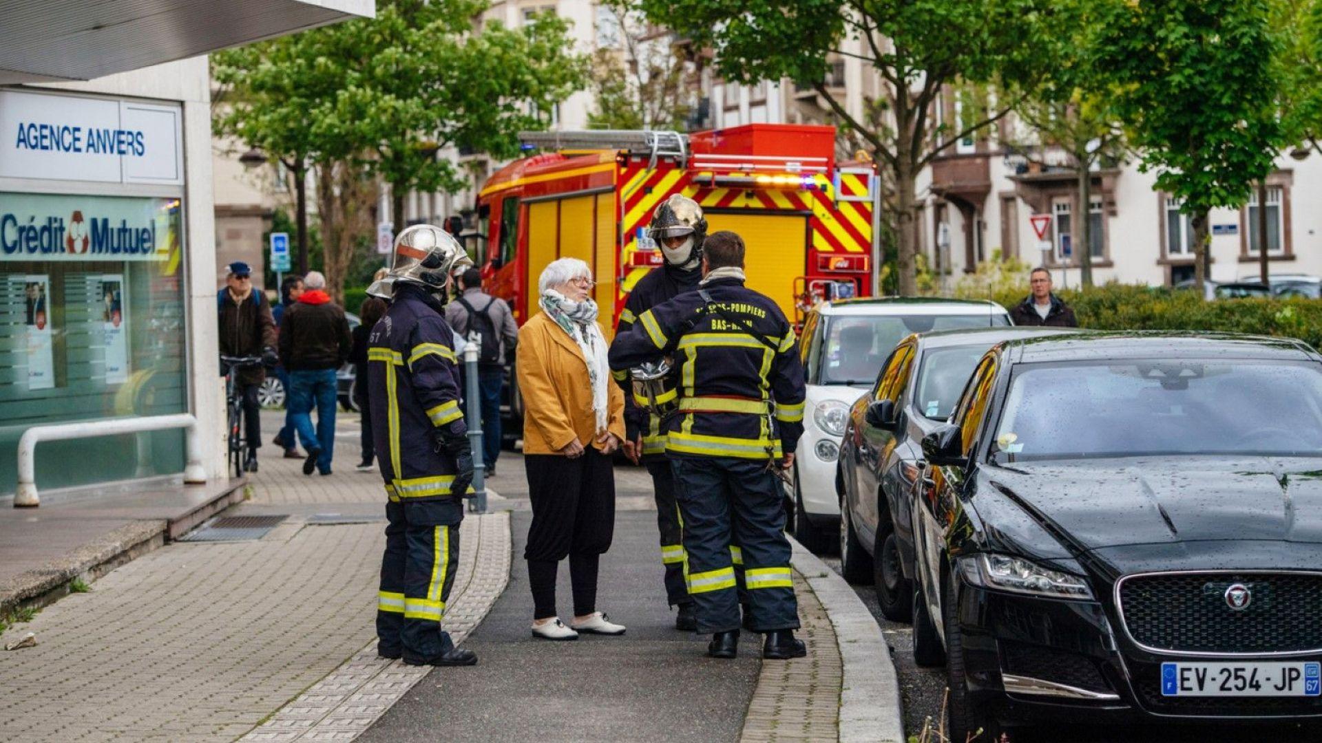 Пет души загинаха при пожар в сграда  в Страсбург
