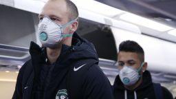 Първите тестове на Лудогорец за коронавирус са отрицателни