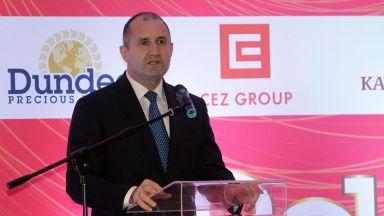 Румен Радев: Инвестициите в хората са залог за успеха в бъдещето ни