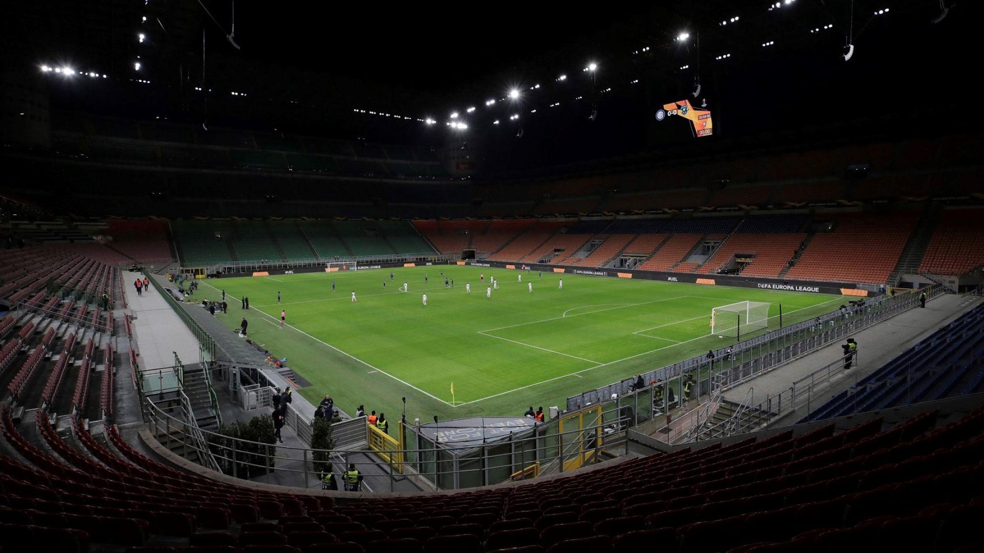 """Италия след призрачната нощ в Милано: Как се играе футбол с маски? """"Меаца"""" е тъжен (снимки и видео)"""