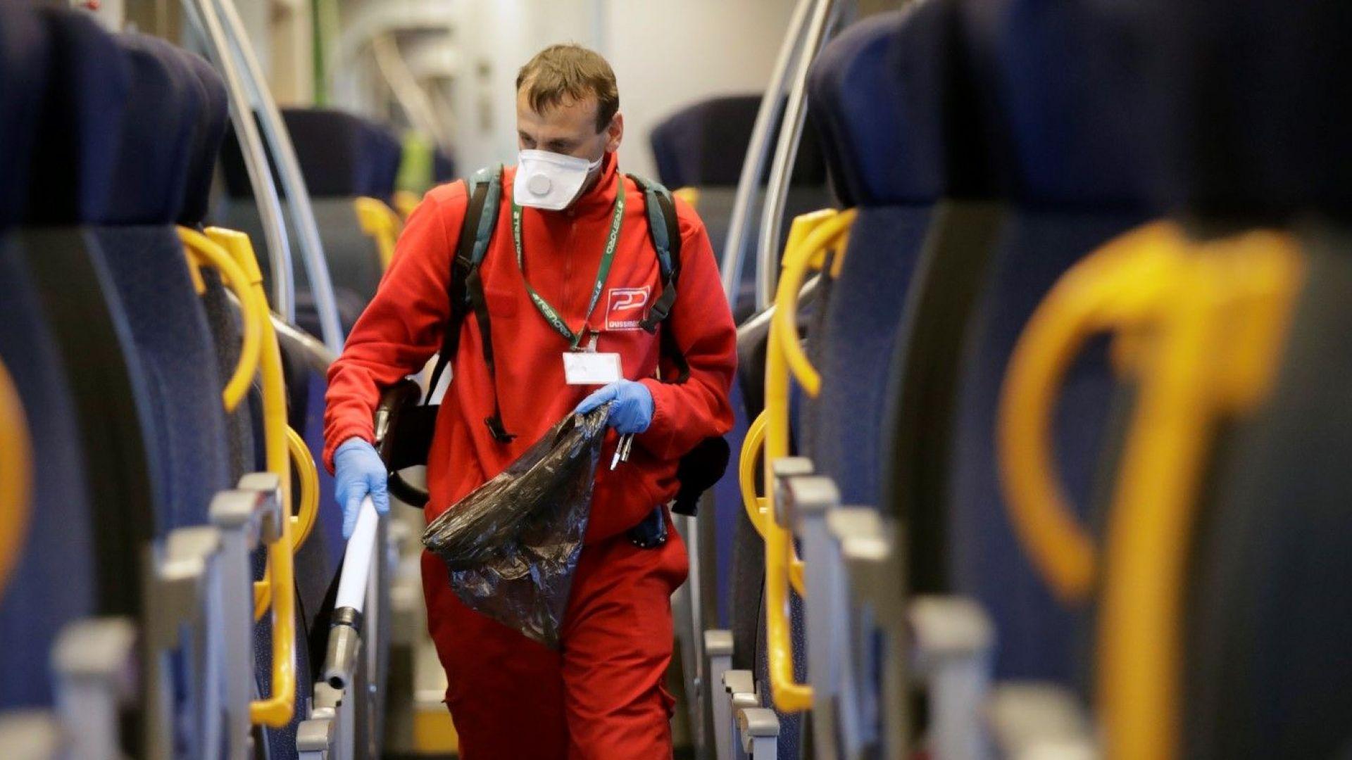 Франция пуска първия високоскоростен влак за болни от Covid-19