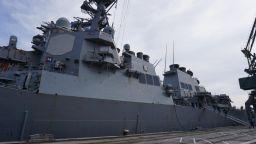 Американски разрушител, атакувал Сирия, акостира във Варна