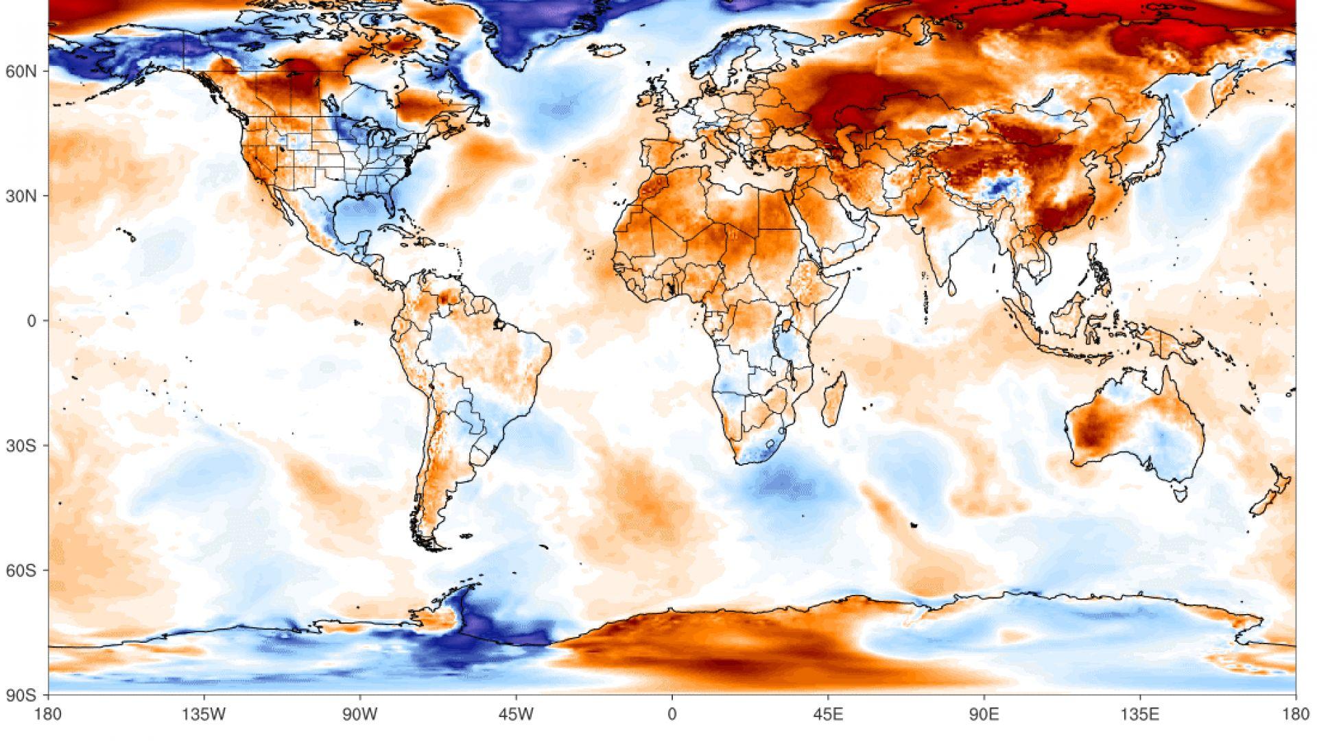 Арктика: нито ден без рекорд!