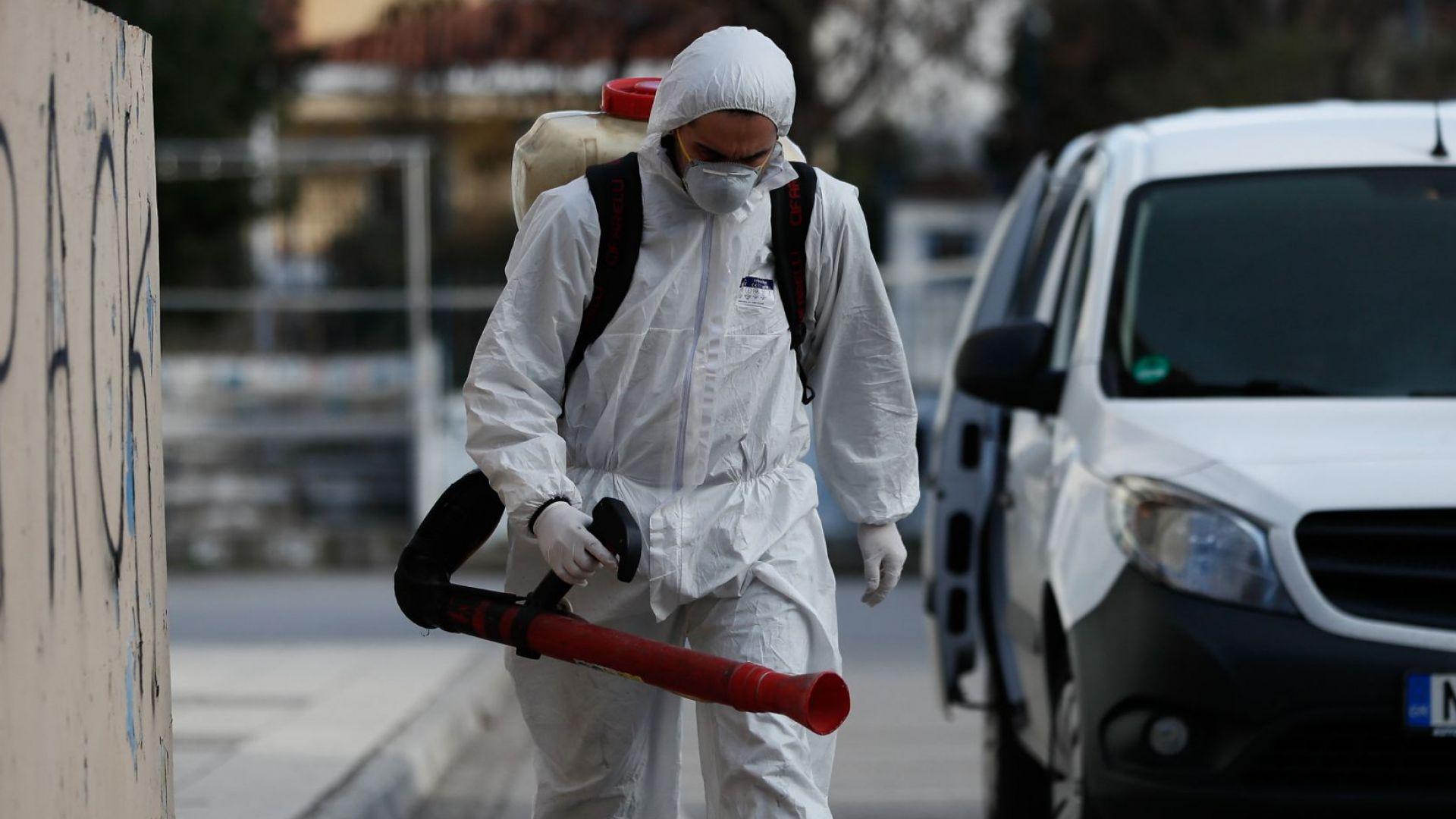 Четвърти заразен с Ковид-19 в Гърция
