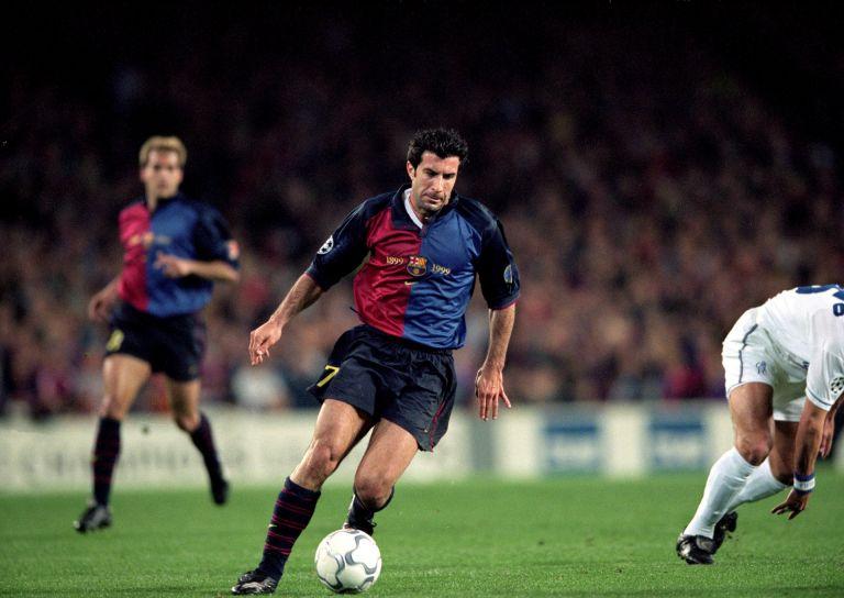 Преди това обаче той записа 249 мача за Барса, стигна и до капитанската лента на каталунците, а предатеслтвото не е простено и до днес.
