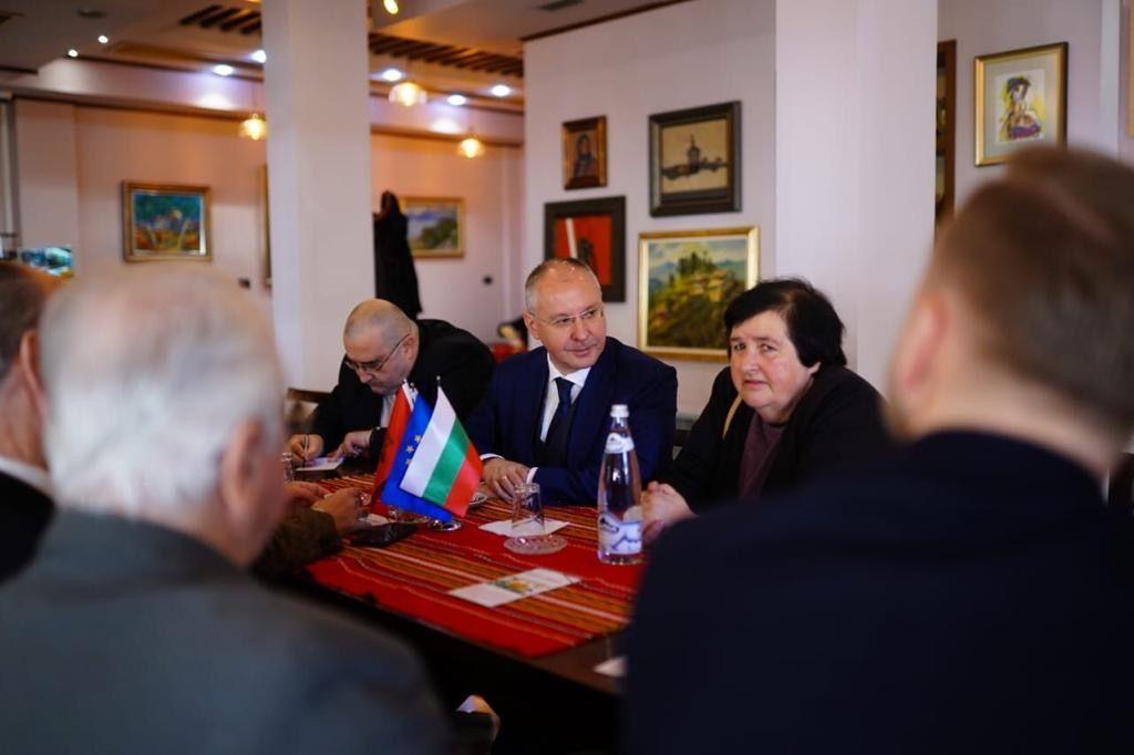 Сергей Станишев с Еди Рама в Тирана